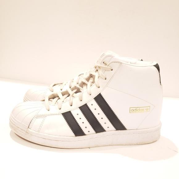 Womens ADIDAS Originals Superstar wedge sneaker